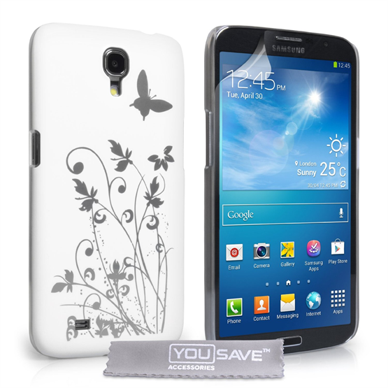 Yousave Accessories Samsung Galaxy Mega 6.3 IMD White Case