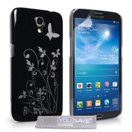 Yousave Accessories Samsung Galaxy Mega 6.3 IMD Black Case
