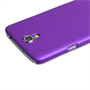Yousave Accessories Samsung Galaxy Mega 6.3 Hybrid Purple Case
