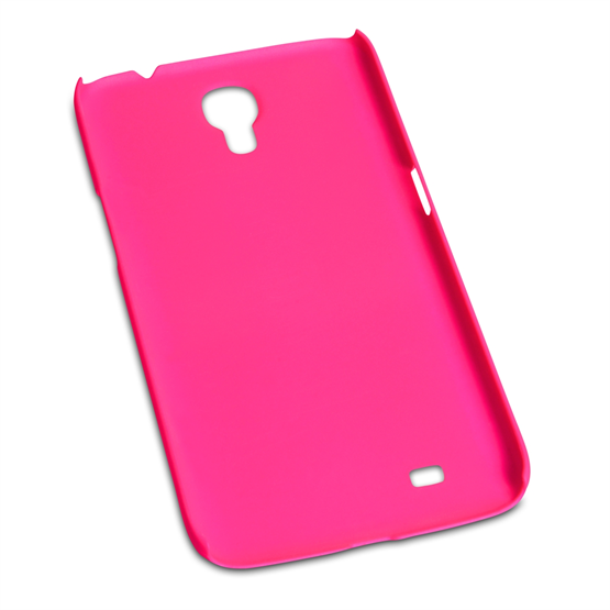 Yousave Accessories Samsung Galaxy Mega 6.3 Hybrid Hot Pink Case