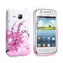 Yousave Accessories Samsung Galaxy Young Floral Bee Pink Case
