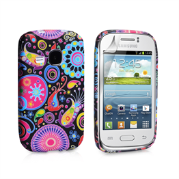 Yousave Accessories Samsung Galaxy Young Jellyfish Pattern Gel Case