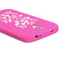 Yousave Accessories Samsung Galaxy S4 Floral Hot Pink Case
