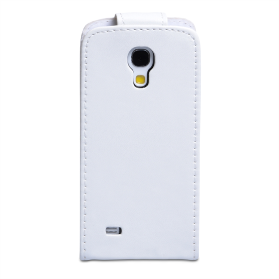 Yousave Accessories Samsung Galaxy S4 Mini Leather-Effect Flip Case - White