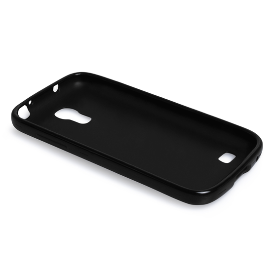 Yousave Accessories Samsung Galaxy S4 Mini Gel Black Case
