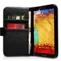 Yousave Accessories Samsung Galaxy Note 3 PU Wallet Black Case