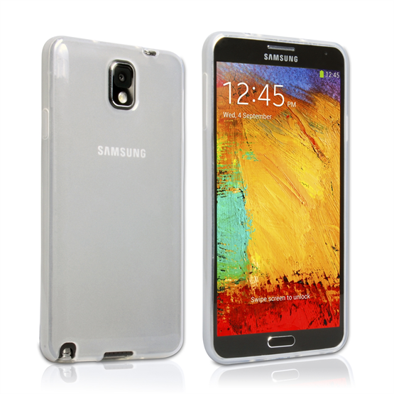 Yousave Accessories Samsung Galaxy Note 3 Gel Clear Case