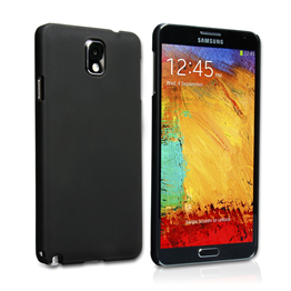 Yousave Accessories Samsung Galaxy Note 3 Hybrid Black Case