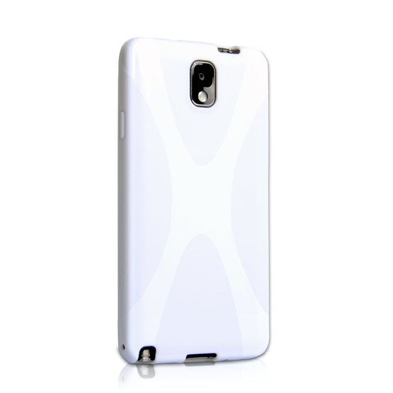 Yousave Accessories Samsung Galaxy Note 3 X-Line White Case