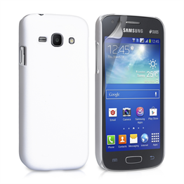 Yousave Accessories Samsung Galaxy Ace 3 Hybrid White Case
