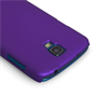Yousave Accessories Samsung Galaxy S4 Active Hybrid Purple Case