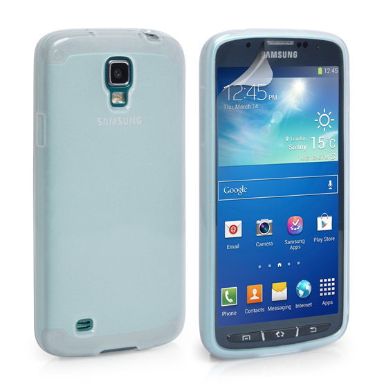 Yousave Accessories Samsung Galaxy S4 Active Gel Clear Case
