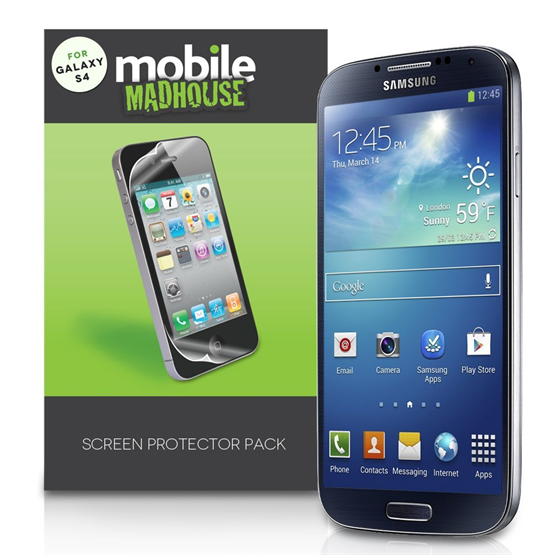 Yousave Accessories Samsung Galaxy S4 Active Screen Protectors X 5 Clear
