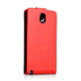 Yousave Accessories Samsung Galaxy Note 3 PU Flip Red Case
