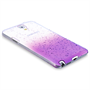 Yousave Accessories Samsung Galaxy Note 3 Raindrop Purple Case