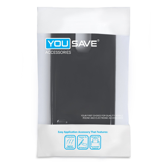 Yousave Accessories Samsung Galaxy S5 Black Gel