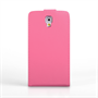 Yousave Accessories Samsung Galaxy Note 3 Neo Leather-Effect Flip Case - Hot Pink