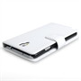 Yousave Accessories Samsung Galaxy Note 3 Neo Leather-Effect Wallet Case - White