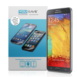 Yousave Accessories Samsung Galaxy Note 3 Neo Screen Protector - 3 Pack