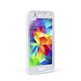 Yousave Accessories Samsung Galaxy S5 Mini Silicone Gel X-Line Case - White