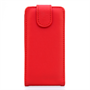 Yousave Accessories Samsung Galaxy S5 Mini Leather-Effect Flip Case - Red