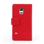 Yousave Accessories Samsung Galaxy S5 Mini Leather-Effect Wallet Case - Red
