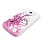 Yousave Accessories Samsung Galaxy Core Plus Floral Bee Silicone Gel Case