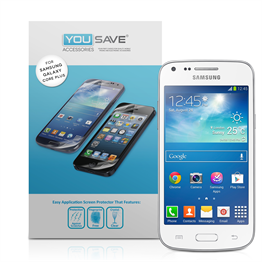 Yousave Accessories Samsung Galaxy Core Plus Screen Protectors - 3 Pack