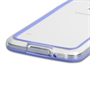 Yousave Accessories Samsung Galaxy S5 Bumper Case - Clear/Blue