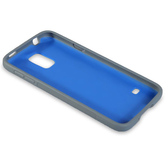 Yousave Accessories Samsung Galaxy S5 Bubble Case - Blue
