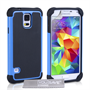 Yousave Accessories Samsung Galaxy S5 Grip Combo Blue Case