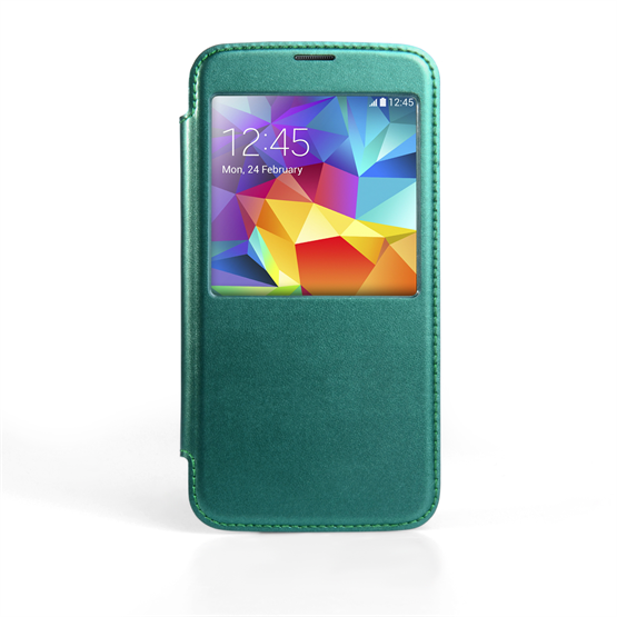 Yousave Accessories Samsung Galaxy S5 Battery Cover Blue Case