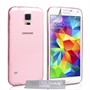 Yousave Accessories Samsung Galaxy S5 0.6Mm Gel- Pink