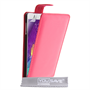 Yousave Accessories Samsung Galaxy Note 4 Leather-Effect Flip Case - Hot Pink
