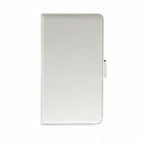 Yousave Accessories Samsung Galaxy Note 4 Leather-Effect Wallet Case - White
