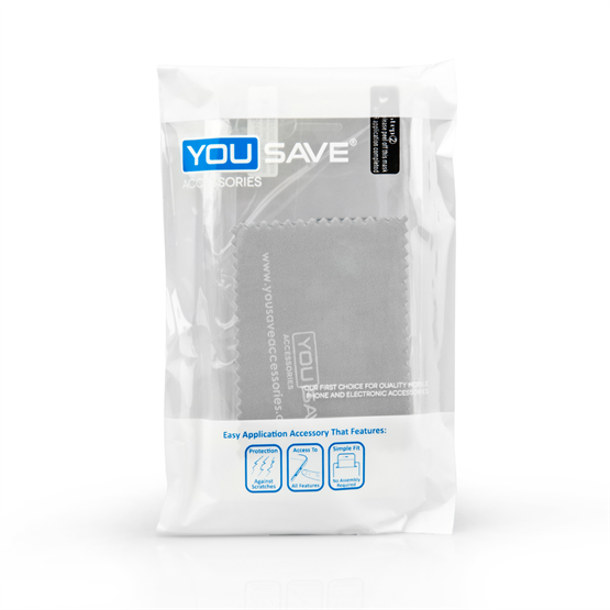 Yousave Accessories Samsung Galaxy Alpha Silicone Gel Case - Clear