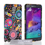 Yousave Accessories Samsung Galaxy Note 4 Multi Jellyfish