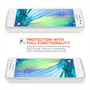 Yousave Accessories Samsung Galaxy A3 Silicone Gel Case - Clear
