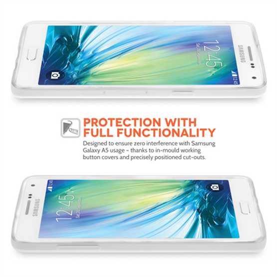 Yousave Accessories Samsung Galaxy A5 Silicone Gel Case - Clear