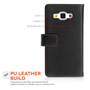 Yousave Accessories Samsung Galaxy A5 Leather-Effect Wallet Case - White