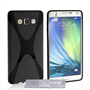 Yousave Accessories Samsung Galaxy A7 Silicone Gel X-Line Case - Black