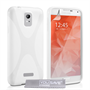 Yousave Accessories Samsung Galaxy S6 Silicone Gel X-Line Case - White