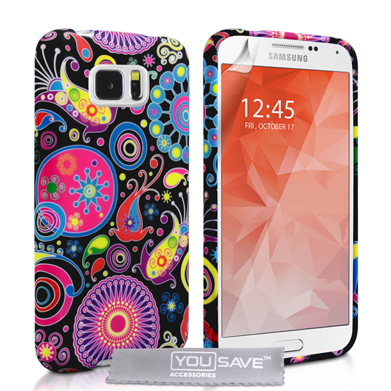 Yousave Accessories Samsung Galaxy S6 Jellyfish Silicone Gel Case