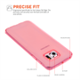Yousave Accessories Samsung Galaxy S6 Edge Ultra Thin Gel - Pink Case