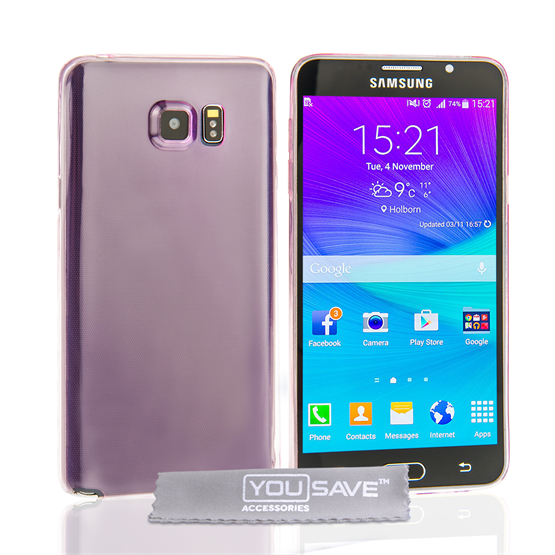 Samsung Galaxy Note 5 Ultra Thin Gel - Pink
