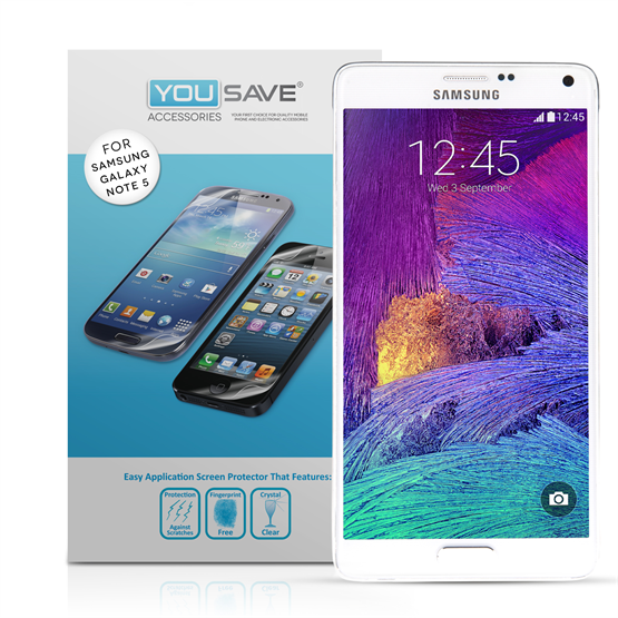 Samsung Galaxy Note 5 Screen Protector Three Pack