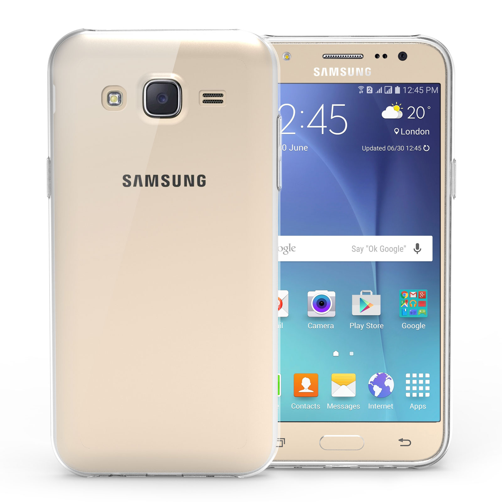 samsung galaxy j5 phone case clear