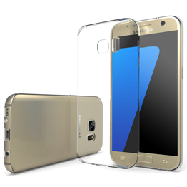 Yousave Accessories Samsung Galaxy S7 Ultra Thin Clear Gel Case