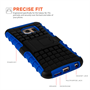 Yousave Accessories Samsung Galaxy S6 Stand Combo Case - Blue / Black