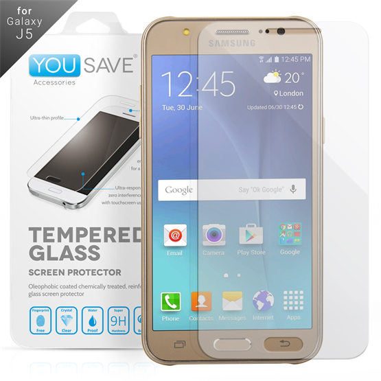 YouSave Accessories Samsung Galaxy J5 Glass Screen Protector